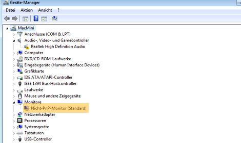 MacMini ohne Bildschirm starten, Headless MacMini, MacMini als Server
